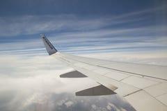 瑞安航空公司 免版税库存图片