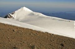 瑞尼尔山山顶冰和雪 图库摄影
