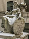 瑟古德・马歇尔美国法院大楼 免版税库存图片