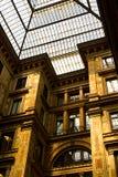玻璃做的屋顶 库存图片
