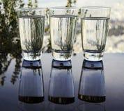 玻璃反射 免版税库存图片