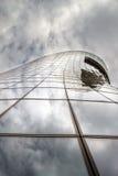 玻璃和金属摩天大楼  编译的多楼层 免版税库存照片