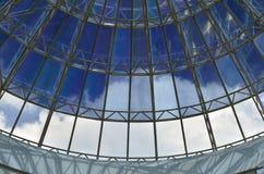 玻璃圆顶 库存图片