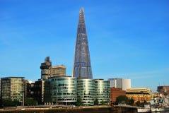 玻璃塔碎片在伦敦 库存照片