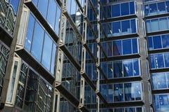 玻璃墙壁 免版税库存图片