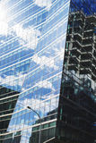 玻璃墙壁 库存照片