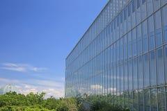 玻璃墙 免版税库存图片