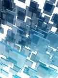 玻璃多维数据集 库存图片