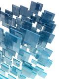 玻璃多维数据集 库存照片
