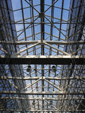 玻璃天花板 免版税库存图片