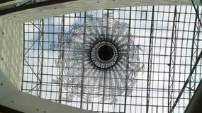 玻璃天花板 库存图片
