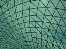 玻璃天花板 免版税图库摄影