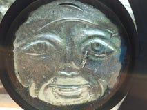 玻璃太阳面孔 图库摄影