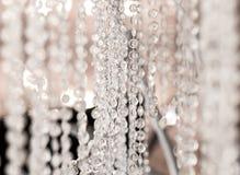 玻璃小卵石吊 库存图片