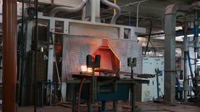 玻璃工厂茱莉亚 库存照片