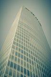 玻璃摩天大楼角落 免版税库存照片