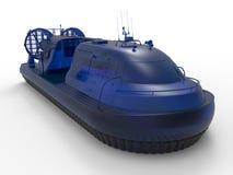 玻璃气垫船例证 皇族释放例证
