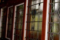 玻璃污点视窗 免版税图库摄影