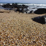 玻璃海滩考艾岛 库存图片
