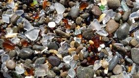 玻璃海滩II 库存照片