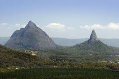 玻璃温室山,昆士兰,澳大利亚 库存照片