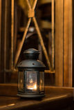 玻璃灯笼 免版税库存图片