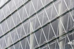 玻璃现代门面 库存图片