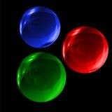 玻璃球形 图库摄影