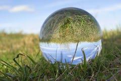 玻璃球 免版税库存图片