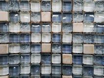 玻璃瓦片 库存照片