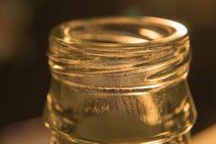 玻璃瓶颈背景 库存照片
