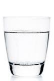 玻璃用与泡影的水 库存照片