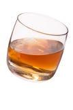 玻璃用威士忌酒 免版税库存图片
