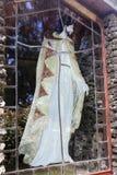 玻璃的耶稣 图库摄影