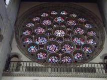 玻璃盘旋的窗口 免版税库存照片