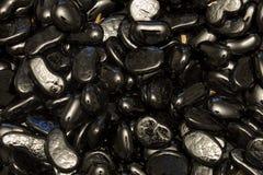 黑玻璃矿块 免版税库存图片