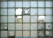 玻璃砖块 免版税库存图片