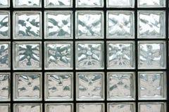 玻璃砖墙壁 免版税库存照片