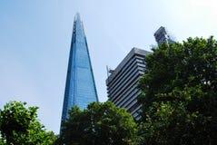 玻璃碎片在伦敦 免版税图库摄影