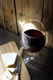 玻璃红葡萄酒 库存图片