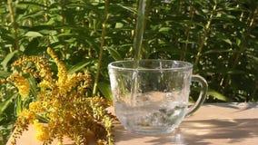 玻璃纯水 影视素材