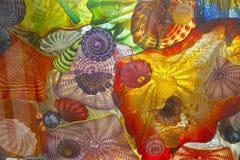 玻璃艺术。 免版税库存照片