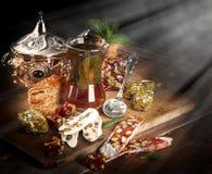 玻璃茶 免版税图库摄影