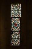 玻璃被弄脏的视窗 免版税库存照片