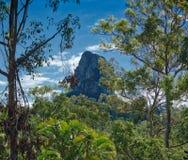 玻璃议院山,昆士兰澳大利亚 库存照片