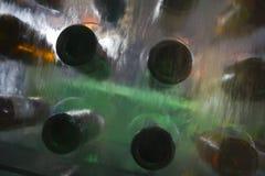凉快的酒瀑布-抽象迷离 免版税图库摄影