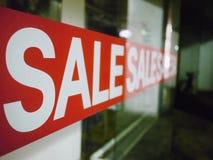 玻璃销售额符号视窗 免版税库存图片