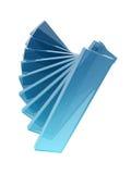 玻璃长方形 库存图片