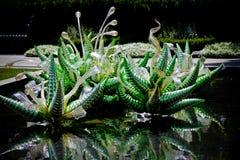 玻璃雕塑2 免版税库存照片