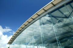 玻璃建筑学 库存图片